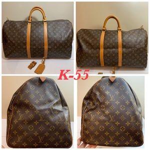 Keepall 55 & Luggage tag